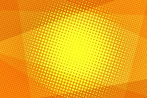 Orange halftone background