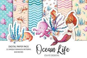 Ocean Life Paper Pack