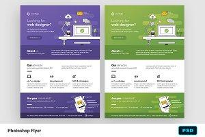 Web Designer Flyer