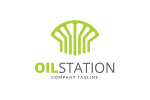 Oil Station Logo