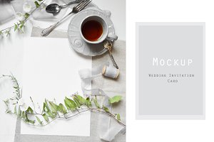 Styled stock photo - Card Mockup