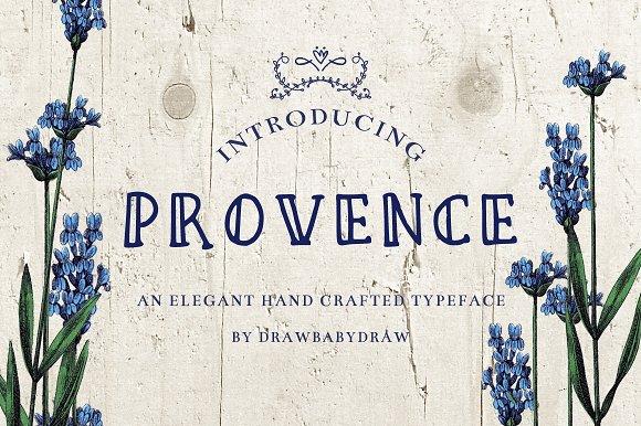 Vintage Font- Provence