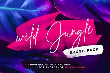 Wild Jungle - Brush pack by  in Brushes