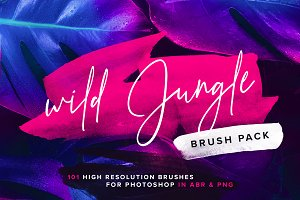 Wild Jungle - Brush pack
