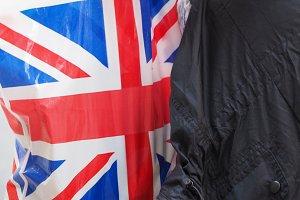 flag of the United Kingdom (UK) aka Union Jack bag