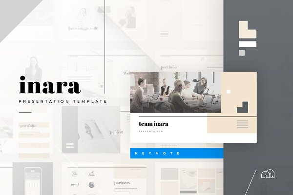 Presentation Templates: bilmaw creative - Keynote - Inara