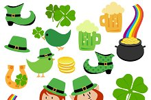 St Patrick's Day Vectors and Clipart