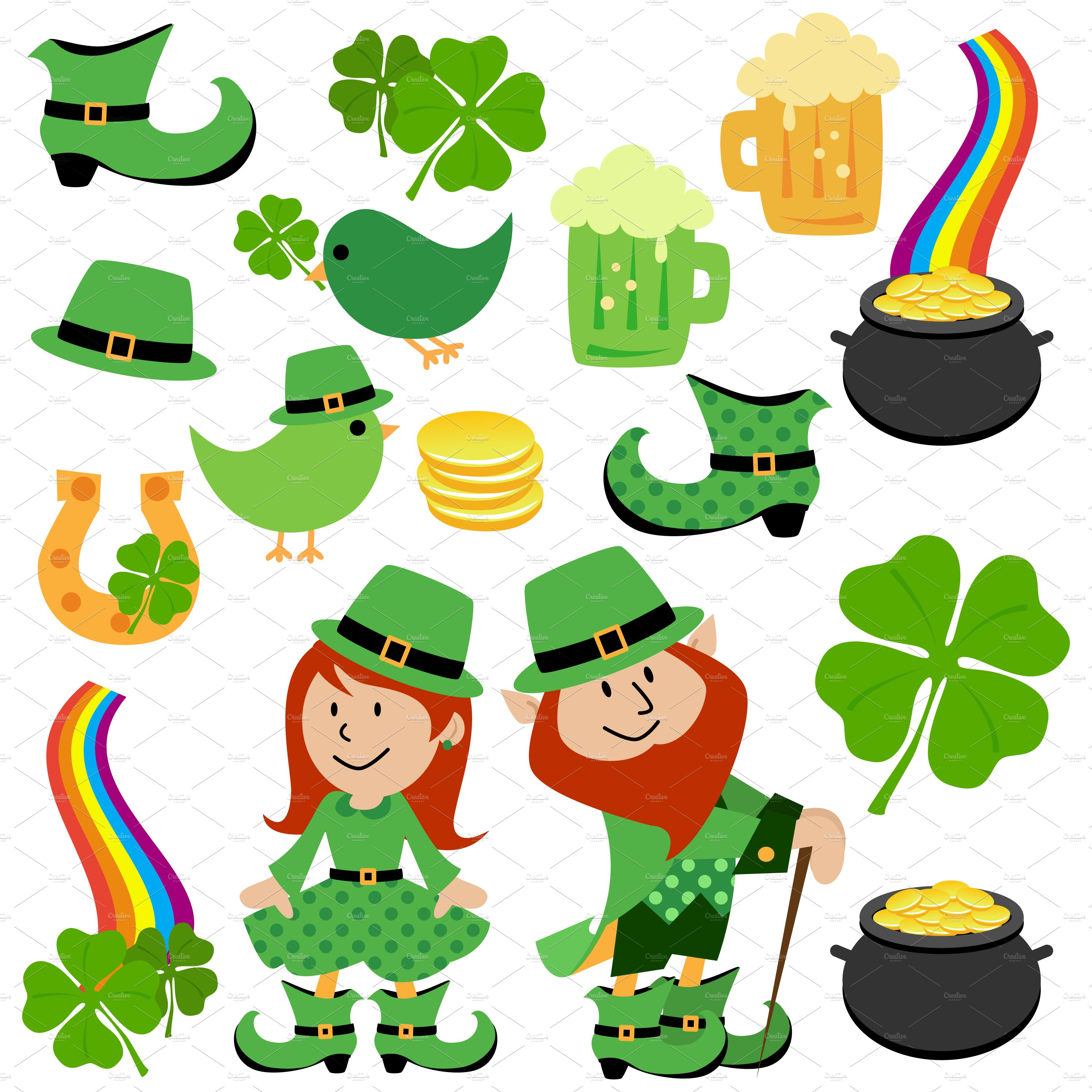 It's just a photo of Gratifying Free Printable Clipart for St Patrick's Day