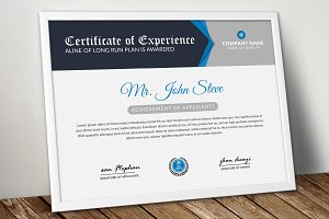 Creative Company Certificate Word