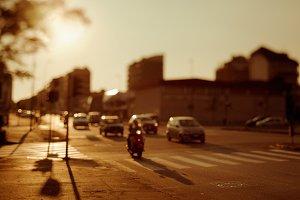 Milan at Sunset