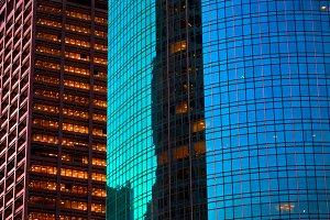 Skyscrapers Texture Background