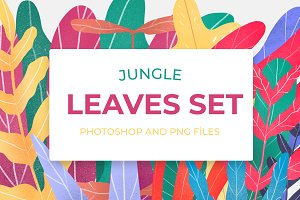 Jungle Leaves Set