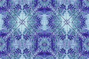 Modern Geometric Floral Ornate