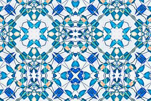Ancient Modern Check Seamless Pattern
