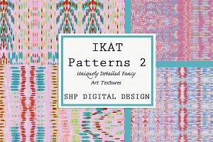 Ikat Ethnic Pattern Set 2