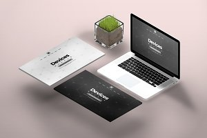 Apple Devices screen Pack mockup