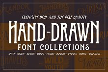 Handdrawn Font Collections