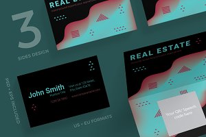 Business Cards | Real Estate Company