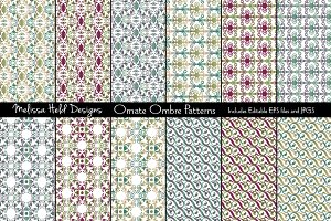 Ornate Ombre Patterns