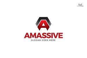 Amassive - Letter A Logo