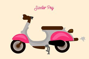 Scooter Png Element