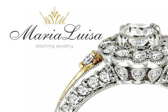 MariaLuisa Dashing Jewelry ~ Logo Templates ~ Creative Market