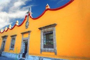Beautiful Coyoacan Streets, Mexico