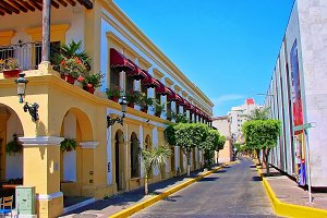 Mazatlan streets - old city
