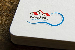 World City Logo Template