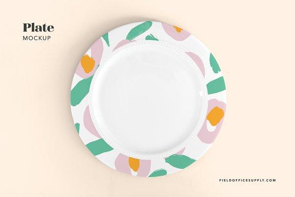 Plate Mockup