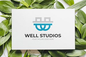 W Type Studio Logo Template