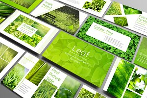 Leaf - Powerpoint Template
