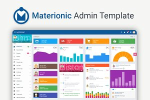 Materionic Admin Dashboard Template