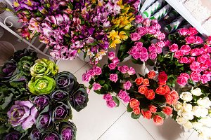 Flowers delivery, creating order