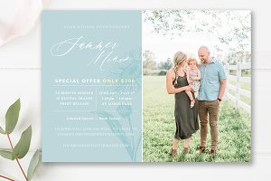 5x7 Summer Mini Session Template
