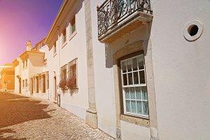 Cascais narrow streets, Portugal