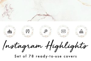 78 Instagram Story Highlight Covers