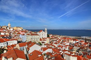 Lisbon, Alfama streets