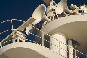 Cruise Ship Radar and Horns.