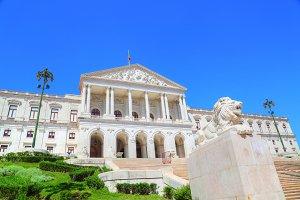 Lisbon parliament building