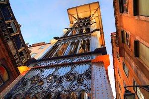 Lisbon, Santa Justa Elevator