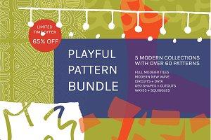 Playful Pattern Bundle | 65% Off