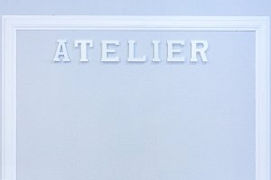 sewing atelier background