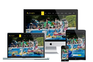 LT Party Onepage - Party Joomla