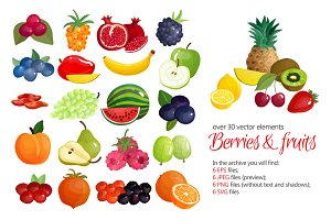 Fruits & Berries Set
