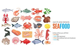 Seafood Menu Set