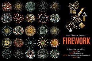 Firework Flat Set