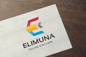 Letter E - Elimuna Logo