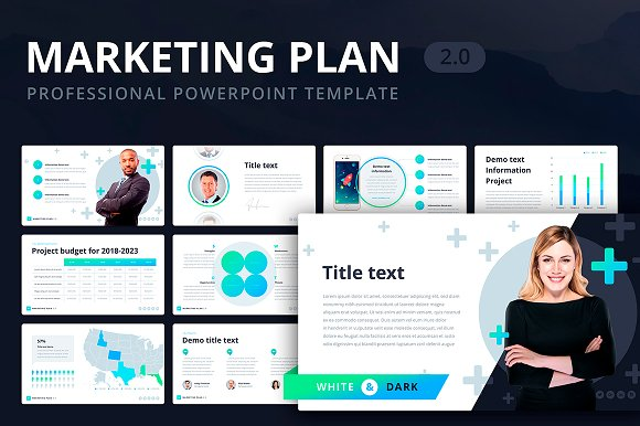 marketing plan 2 0 for powerpoint presentation templates