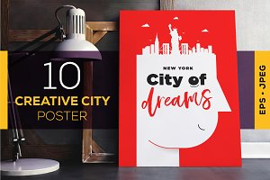 10 Creative City Poster Design